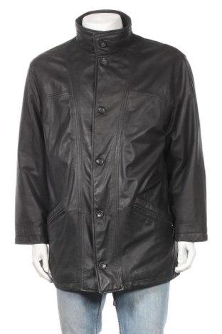 Ανδρικό δερμάτινο μπουφάν Walbusch, Μέγεθος L, Χρώμα Μαύρο, Γνήσιο δέρμα, Τιμή 55,21€