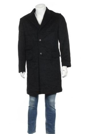 Мъжко палто, Размер M, Цвят Черен, Цена 41,16лв.