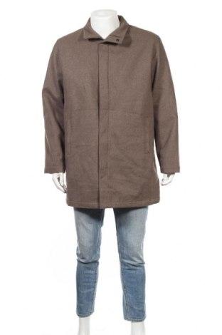 Мъжко палто, Размер L, Цвят Кафяв, Полиестер, Цена 11,29лв.