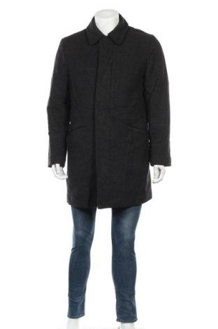 Ανδρικά παλτό Banana Republic, Μέγεθος M, Χρώμα Γκρί, 70% μαλλί, 20% πολυαμίδη, 10% κασμίρι, Τιμή 81,84€