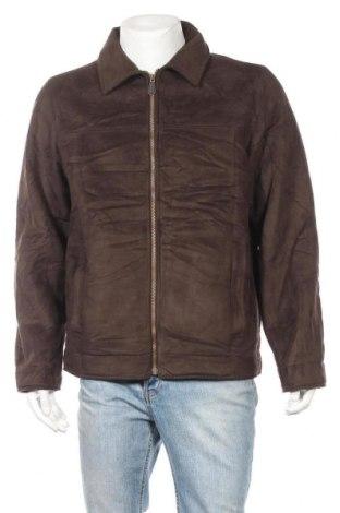 Мъжко палто L.L. Bean, Размер M, Цвят Кафяв, Полиестер, Цена 14,44лв.