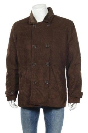 Мъжко палто Tasso Elba, Размер L, Цвят Кафяв, Полиестер, Цена 14,70лв.
