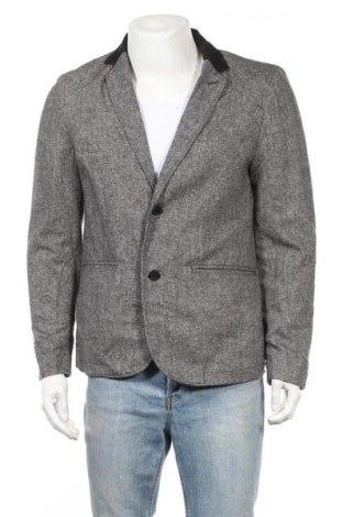 Ανδρικό σακάκι Bossini, Μέγεθος L, Χρώμα Γκρί, 54% μαλλί, 46% πολυεστέρας, Τιμή 9,55€