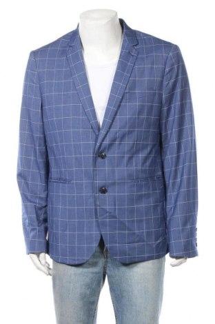 Ανδρικό σακάκι Connor, Μέγεθος 3XL, Χρώμα Μπλέ, 77% πολυεστέρας, 21% βισκόζη, 2% ελαστάνη, Τιμή 18,70€