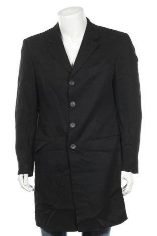 Ανδρικά παλτό Gin Tonic, Μέγεθος M, Χρώμα Μαύρο, 90% βισκόζη, 10% μαλλί, Τιμή 9,55€