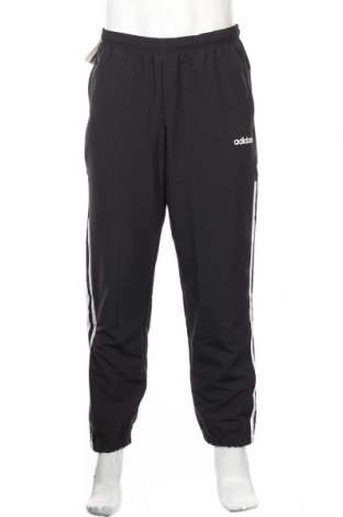 Ανδρικό αθλητικό παντελόνι Adidas, Μέγεθος M, Χρώμα Μαύρο, Πολυεστέρας, Τιμή 20,41€