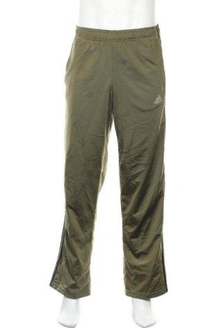 Ανδρικό αθλητικό παντελόνι Adidas, Μέγεθος M, Χρώμα Πράσινο, Τιμή 18,84€