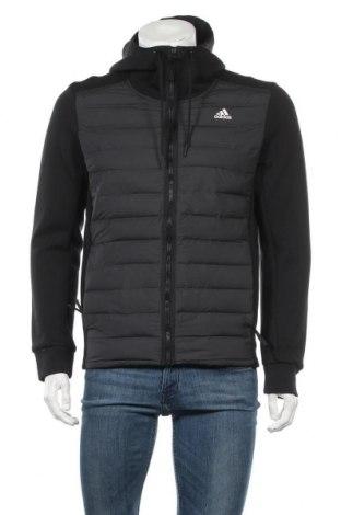 Ανδρικό αθλητικό μπουφάν Adidas, Μέγεθος M, Χρώμα Μαύρο, Πολυεστέρας, Τιμή 63,59€