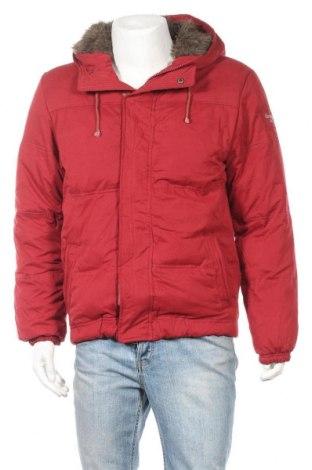 Ανδρικό μπουφάν Abercrombie & Fitch, Μέγεθος M, Χρώμα Κόκκινο, 70% βαμβάκι, 30% πολυαμίδη, Τιμή 63,65€