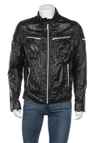 Ανδρικό μπουφάν Baci & Abbracci, Μέγεθος M, Χρώμα Μαύρο, Πολυεστέρας, Τιμή 9,94€