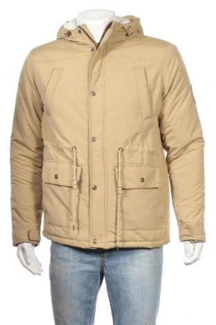 Ανδρικό μπουφάν Lee Cooper, Μέγεθος M, Χρώμα  Μπέζ, Πολυεστέρας, Τιμή 34,41€