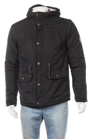 Ανδρικό μπουφάν Lee Cooper, Μέγεθος M, Χρώμα Μαύρο, Πολυεστέρας, Τιμή 34,41€