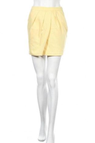 Φούστα Mohito, Μέγεθος XS, Χρώμα Κίτρινο, 62% βισκόζη, 35% πολυεστέρας, 3% ελαστάνη, Τιμή 11,14€