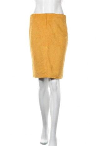 Φούστα Zebra, Μέγεθος M, Χρώμα Κίτρινο, 95% πολυεστέρας, 5% ελαστάνη, Τιμή 20,98€