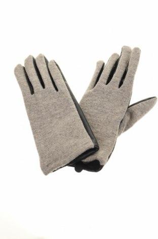 Γάντια Zara, Χρώμα Μαύρο, Δερματίνη, μαλλί, Τιμή 10,39€