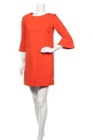 Рокля La Redoute, Размер XS, Цвят Оранжев, 51% памук, 45% полиестер, 4% еластан, Цена 20,51лв.