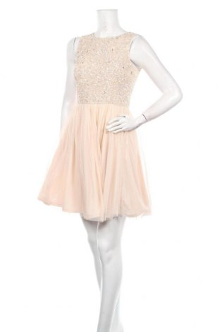 Рокля Lace & Beads, Размер S, Цвят Розов, Полиестер, Цена 33,58лв.