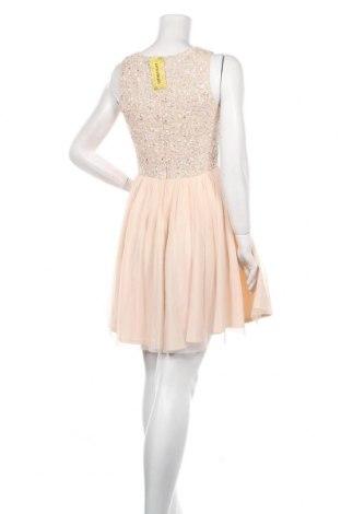 Рокля Lace & Beads, Размер S, Цвят Розов, Полиестер, Цена 109,50лв.
