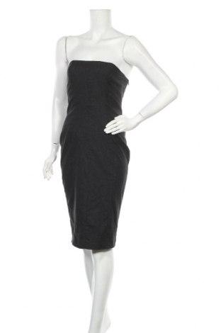Φόρεμα Just Cavalli, Μέγεθος M, Χρώμα Γκρί, 45% μαλλί, 26% πολυεστέρας, 14% βισκόζη, 12% πολυαμίδη, 3% ελαστάνη, Τιμή 71,31€