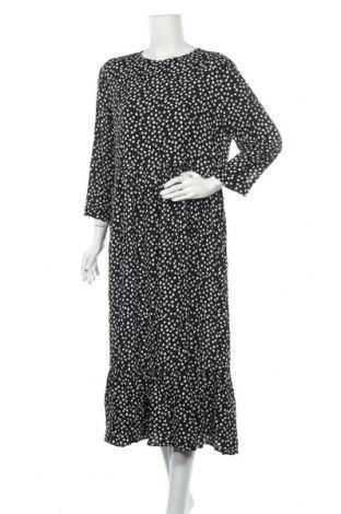 Φόρεμα Zara, Μέγεθος L, Χρώμα Μαύρο, Βισκόζη, Τιμή 25,65€