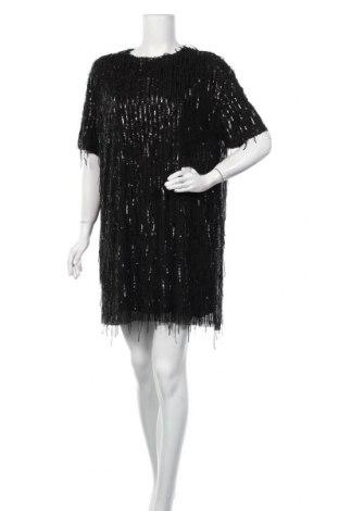 Φόρεμα Zara, Μέγεθος XL, Χρώμα Μαύρο, Βισκόζη, Τιμή 29,82€
