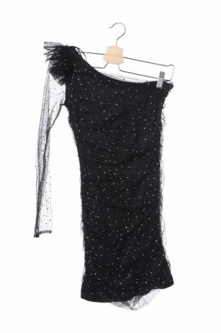 Рокля Zara, Размер S, Цвят Черен, Полиестер, Цена 19,58лв.