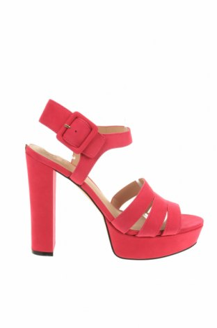 Σανδάλια Guess, Μέγεθος 39, Χρώμα Ρόζ , Γνήσιο δέρμα, Τιμή 84,67€