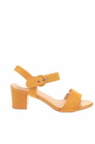 Σανδάλια Kimberfeel, Μέγεθος 39, Χρώμα Κίτρινο, Κλωστοϋφαντουργικά προϊόντα, Τιμή 21,44€