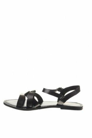 Σανδάλια Manoukian, Μέγεθος 40, Χρώμα Μαύρο, Γνήσιο δέρμα, Τιμή 39,20€