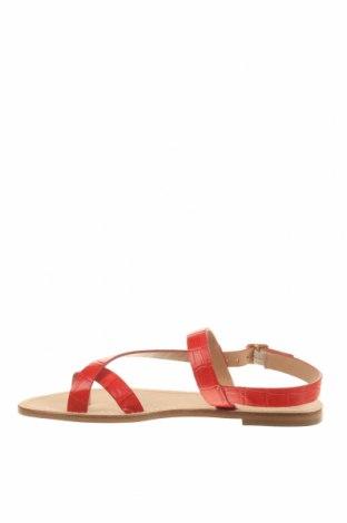 Сандали Minelli, Размер 39, Цвят Червен, Естествена кожа, Цена 35,97лв.