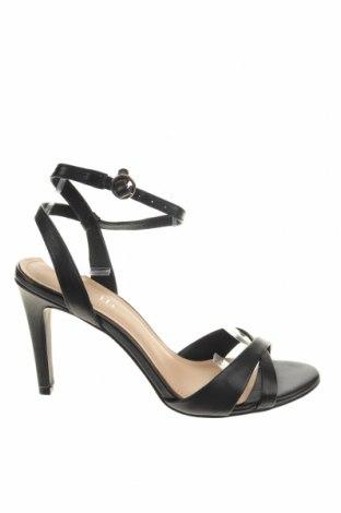 Σανδάλια Minelli, Μέγεθος 37, Χρώμα Μαύρο, Γνήσιο δέρμα, Τιμή 31,92€