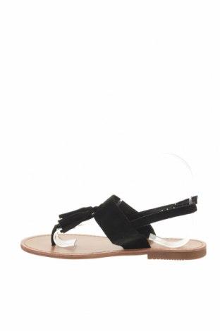 Σανδάλια Rue Princesse, Μέγεθος 39, Χρώμα Μαύρο, Κλωστοϋφαντουργικά προϊόντα, Τιμή 19,56€