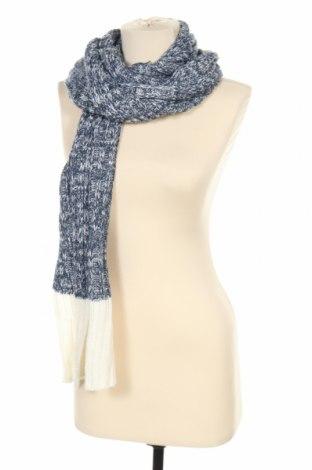 Κασκόλ Dressmann, Χρώμα Μπλέ, 50%ακρυλικό, 50% μαλλί, Τιμή 21,59€