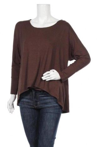 Γυναικεία μπλούζα B.C. Best Connections, Μέγεθος L, Χρώμα Καφέ, 95% βισκόζη, 5% ελαστάνη, Τιμή 9,38€