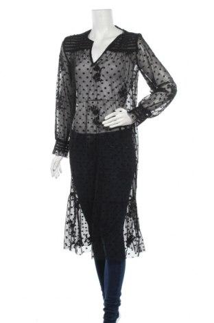 Туника Zara, Размер S, Цвят Черен, Цена 47,56лв.