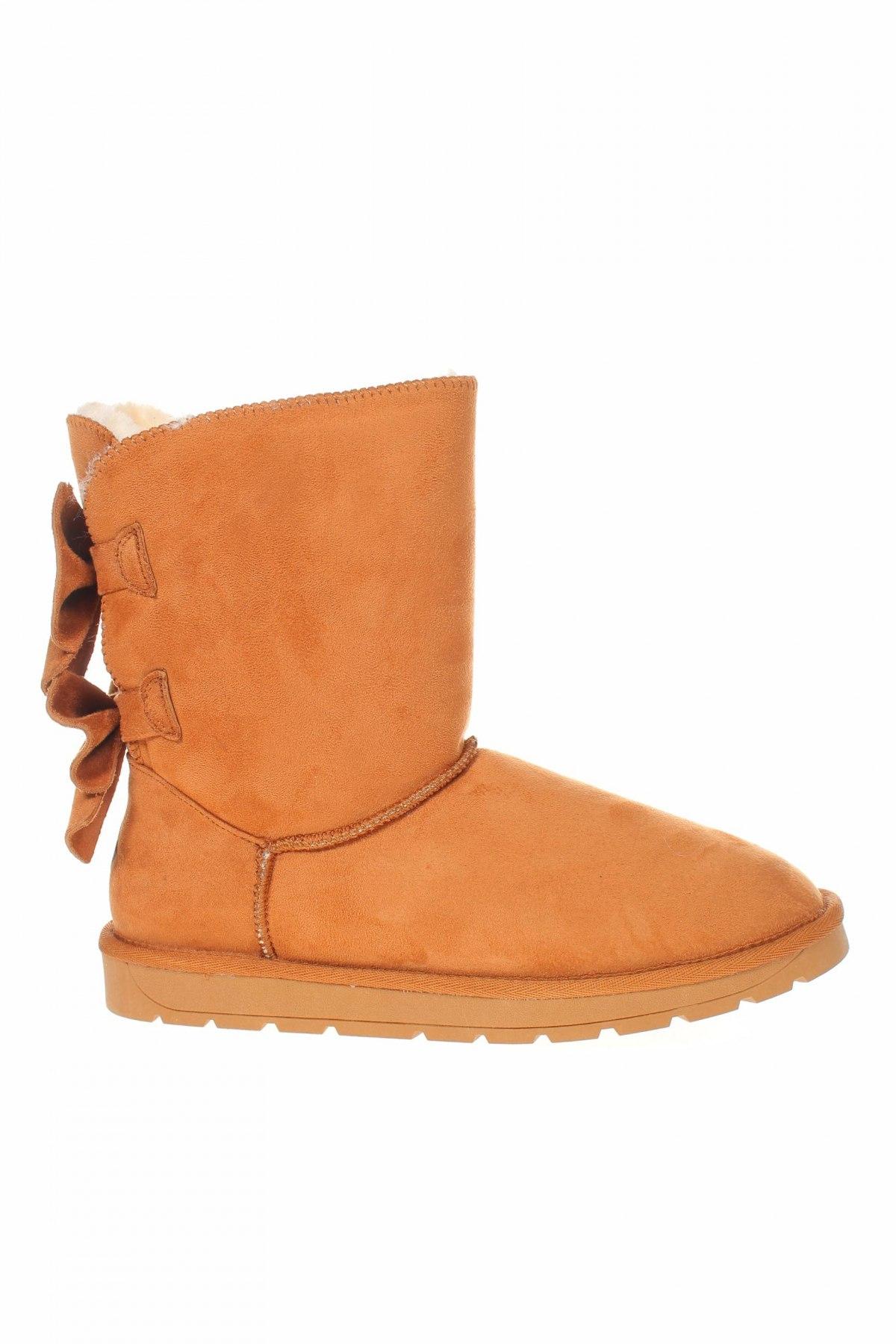 Γυναικείες μπότες Island Boot, Μέγεθος 40, Χρώμα  Μπέζ, Κλωστοϋφαντουργικά προϊόντα, Τιμή 65,33€