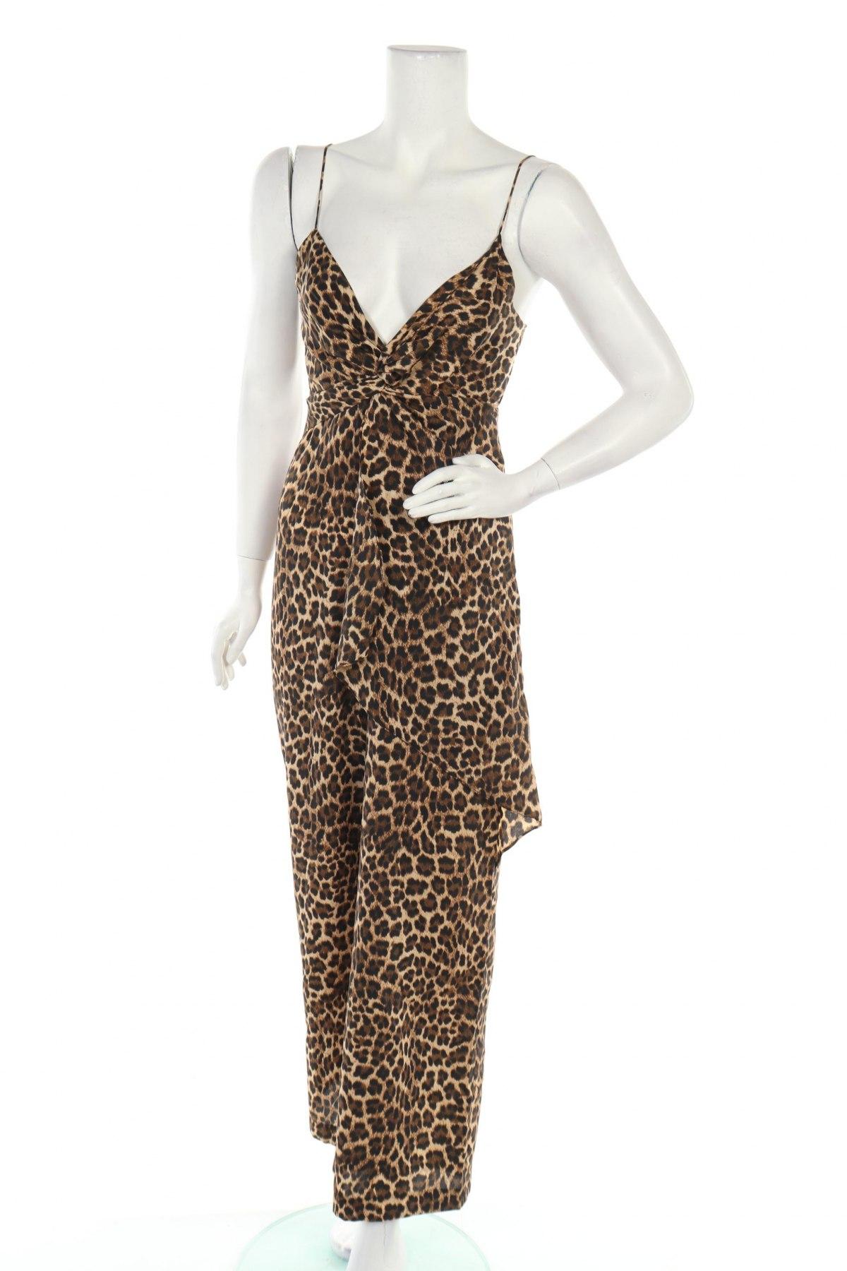 Γυναικεία σαλοπέτα Zara, Μέγεθος XS, Χρώμα Καφέ, Πολυεστέρας, Τιμή 20,36€