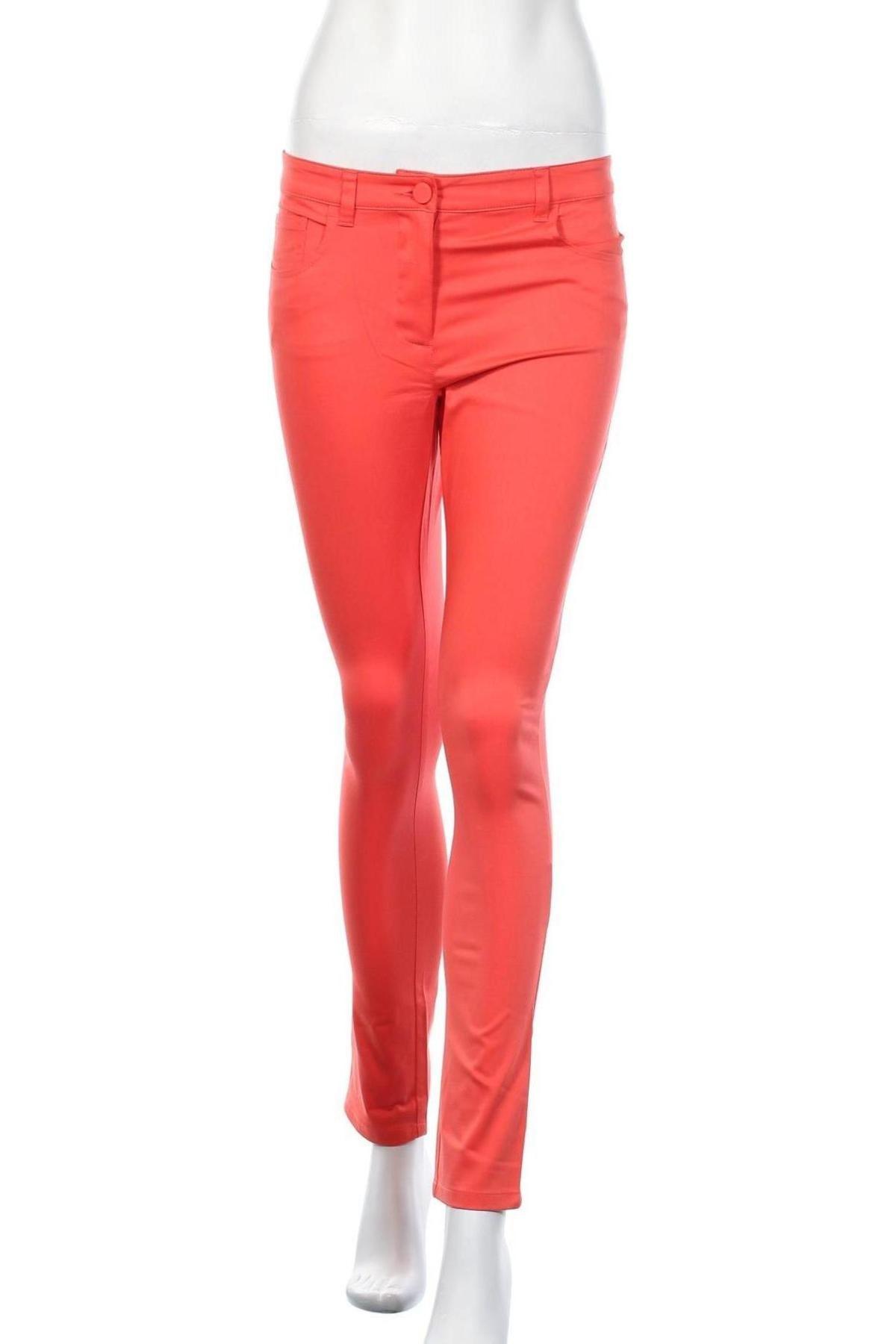 Дамски панталон Stefanel, Размер M, Цвят Розов, 56% памук, 39% модал, 5% еластан, Цена 18,06лв.