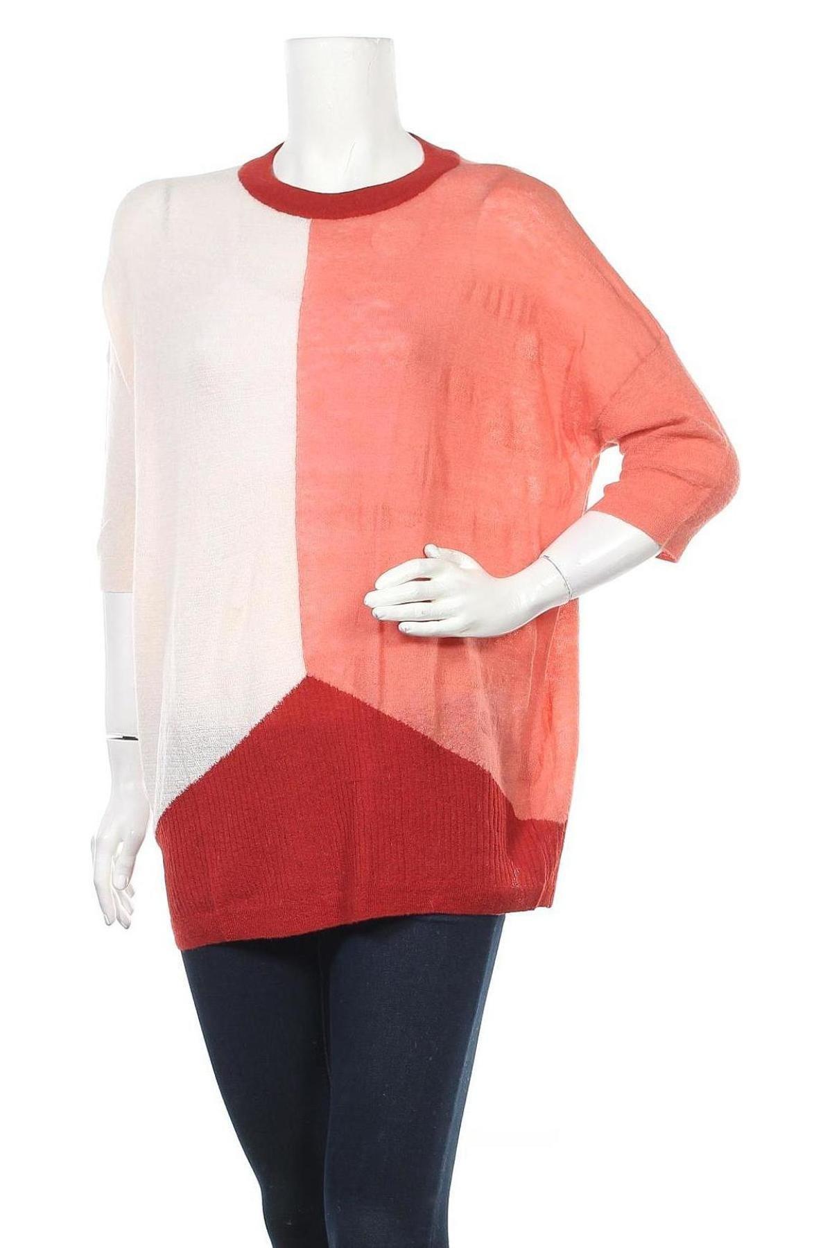 Γυναικείο πουλόβερ Stefanel, Μέγεθος M, Χρώμα Πολύχρωμο, 50% πολυαμίδη, 40% μαλλί από αλπακά, 10% μαλλί, Τιμή 29,09€