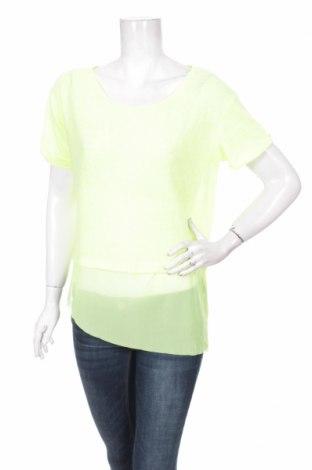 Дамска блуза Ltb, Размер M, Цвят Зелен, 55% полиестер, 45% памук, Цена 3,04лв.