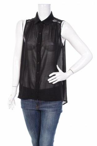 Дамска риза Yes Or No, Размер L, Цвят Черен, 100% полиестер, Цена 17,10лв.