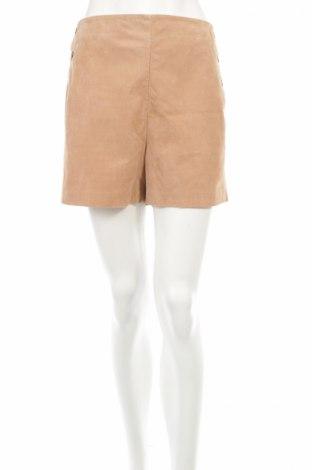 Pantaloni scurți de piele barbați Mango