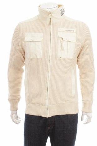 Jachetă tricotată de bărbați Crosshatch