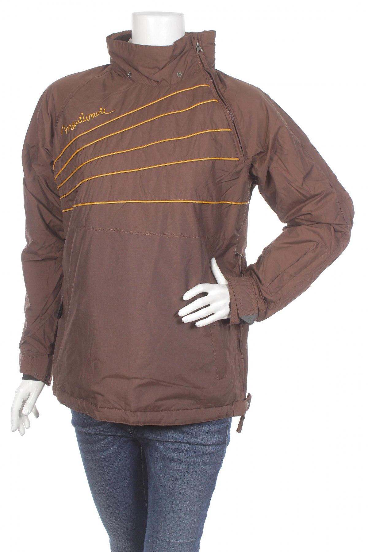Дамско яке за зимни спортове Maui Wowie, Размер S, Цвят Кафяв, Цена 49,30лв.