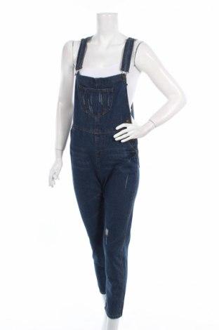 Salopetă jeans de femei