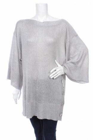 Γυναικείο πουλόβερ By Malene Birger, Μέγεθος S, Χρώμα Γκρί, 70% βισκόζη, 20%ακρυλικό, 10% πολυεστέρας, Τιμή 81,08€