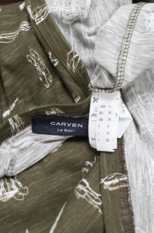Мъжки потник Carven, Размер XL, Цвят Зелен, Памук, Цена 33,80лв.