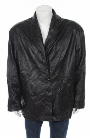 Мъжко кожено сако, Размер L, Цвят Черен, Естествена кожа, Цена 79,00лв.