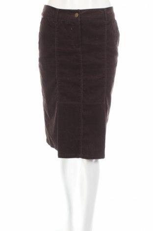 Φούστα Yessica, Μέγεθος S, Χρώμα Καφέ, 98% βαμβάκι, 2% ελαστάνη, Τιμή 4,36€