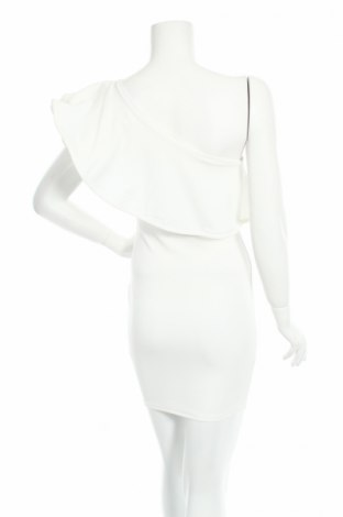 Рокля Club L, Размер S, Цвят Бял, 95% полиестер, 5% еластан, Цена 55,90лв.